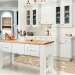 white-kitchen-cabinets-island-Newnan-ga